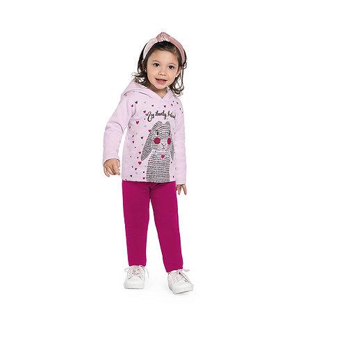 Conjunto Blusão com Capuz e Calça Rovitex Kids