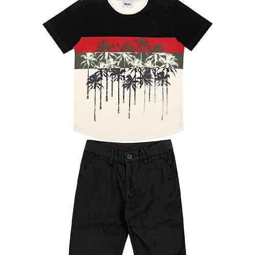 Conjunto Camiseta Bermuda Trick Nick