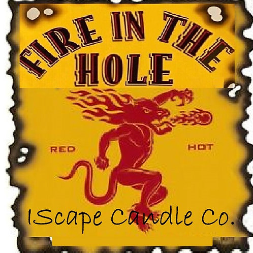 Fire in theHole Candle