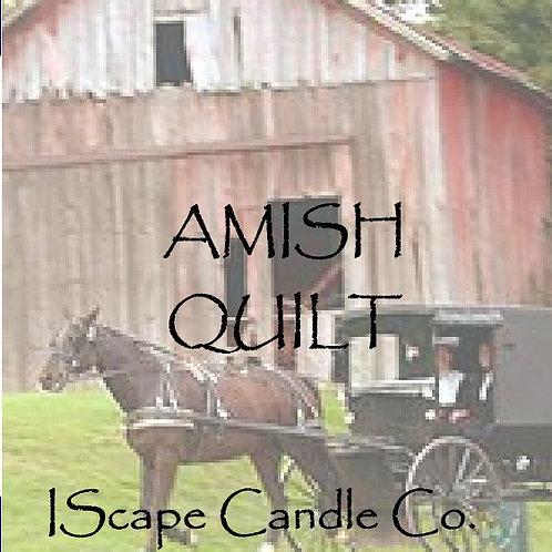 Amish Quilt candle
