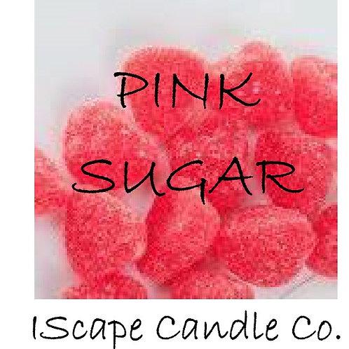 Pink Sugar Candle
