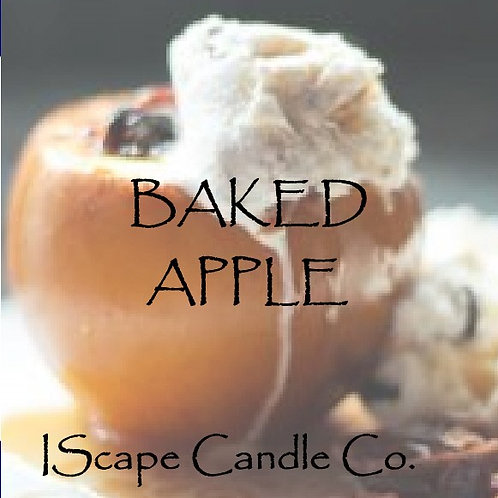 Baked Apple Candle