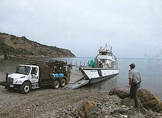 Santa Cruz Unloading Drilling From Barg 2005