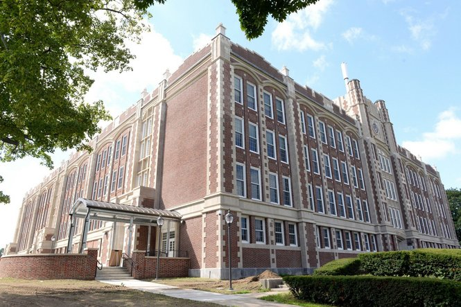 Old Chicopee High School (DuPont)