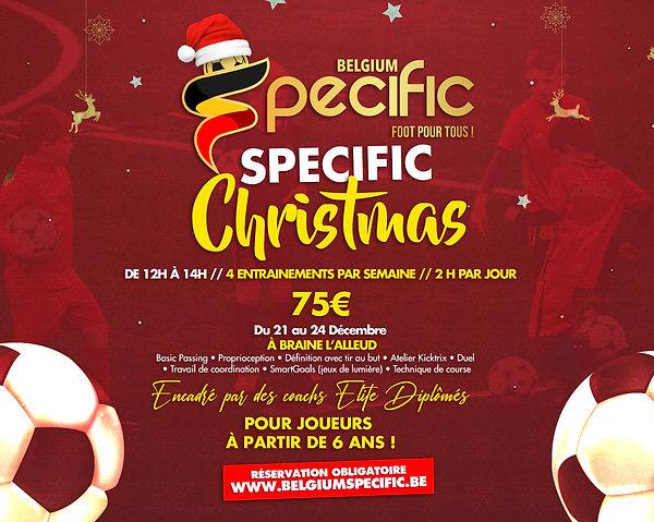 Specific-Christmas-Du 21 au 24 Décembre