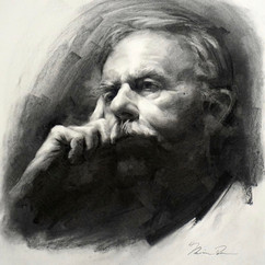 18x20in, Charcoal on Paper, Sept.2016