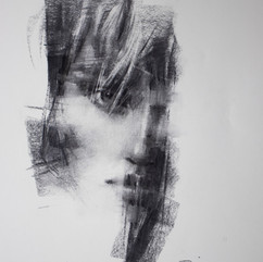 18x20in, Charcoal on Paper, Oct.2019