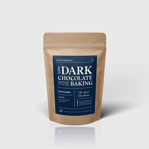 100% Baking Chocolate (1lb)