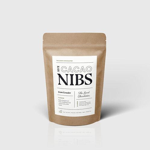 100% Cacao Nibs (1lb)