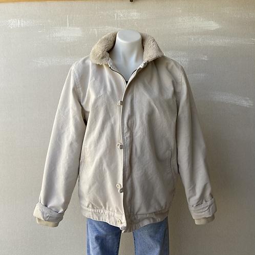 Vans Cotton Canvas Alamitos Sherpa Lined Jacket
