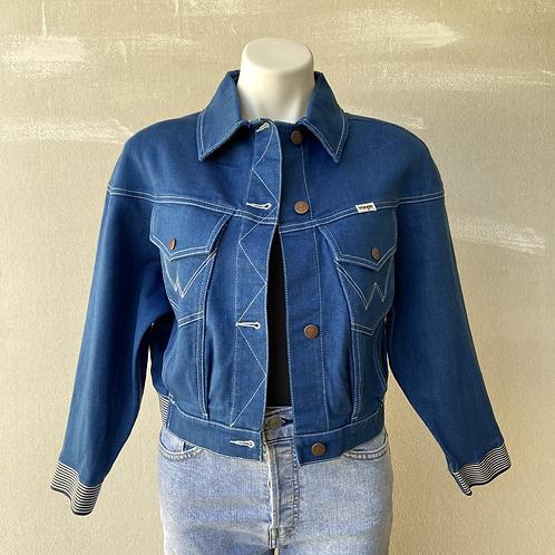 Wrangler Low-Dip Rinse Denim Jacket