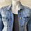 Thumbnail: Tinseltown Upcycled 'Love Conquers All' Jean Jacket