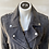 Thumbnail: Marc New York Bowery Gray Suede Leather Moto Jacket