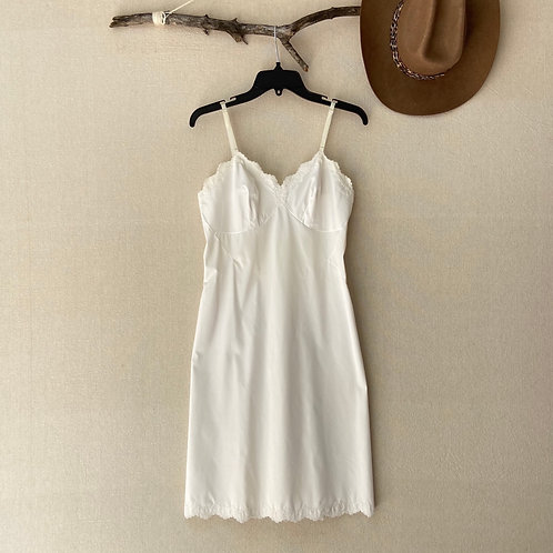 Vintage Vanity Fair Dress Slip Lingerie Sz 34