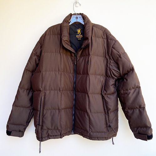 Browning Down Feather Quilted Puffer Jacket