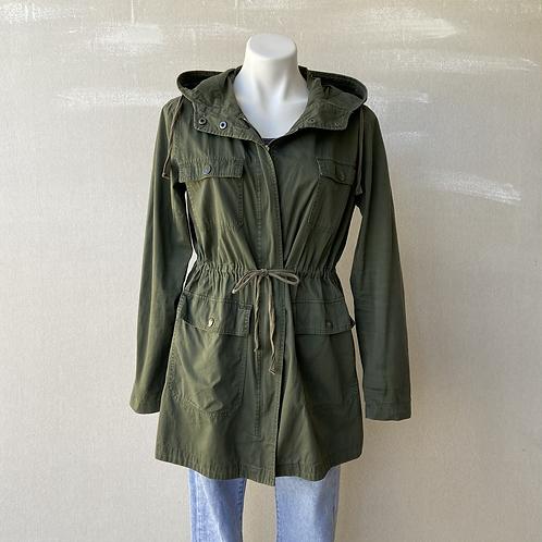 LOVE TREE | Hooded Utility Jacket, Sz L