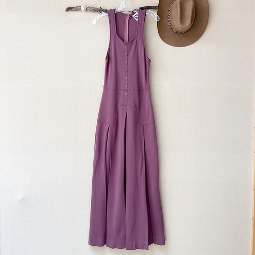 Vintage Joshua Tree Label Sleeveless Maxi Dress Sz Medium