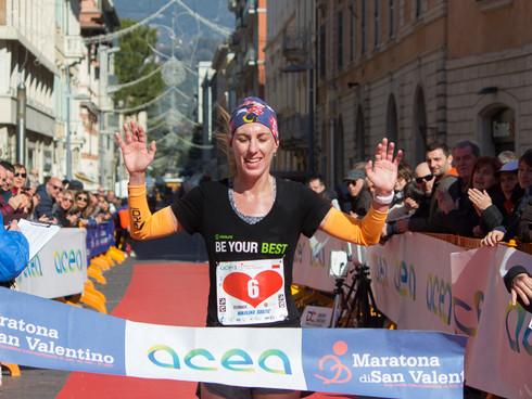 Terni, Maratona di San Valentino: vincono Mohamed Hajjy e Nikolina Sustic