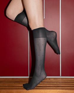 Swedish Stockings Doris Dot Knee-Highs