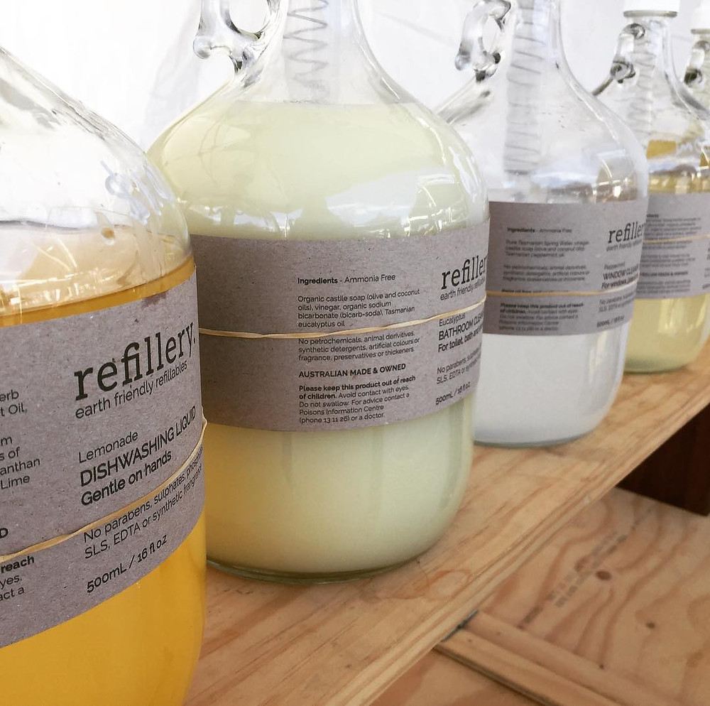 Refillable Eco Friendly Vegan Home and Body Products from Refillery