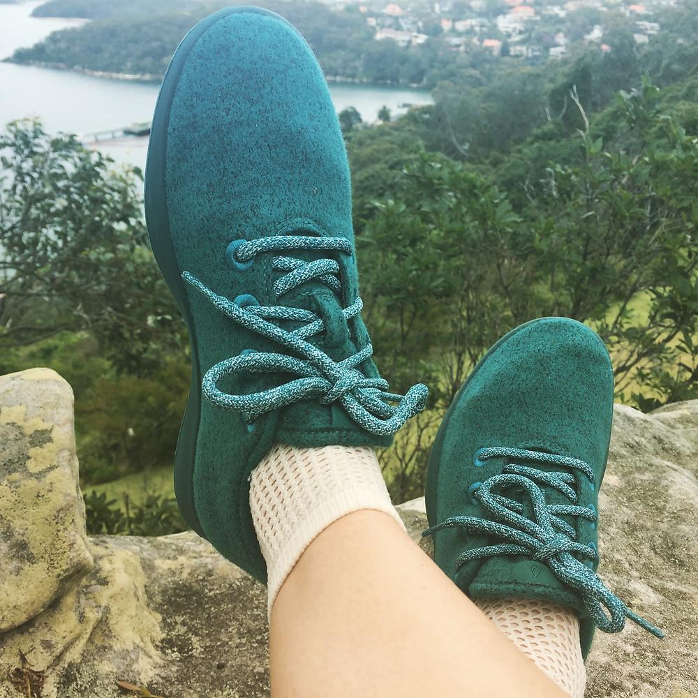 Swedish Stockings White Fishnet Socks Allbirds Sustainable Running Shoes