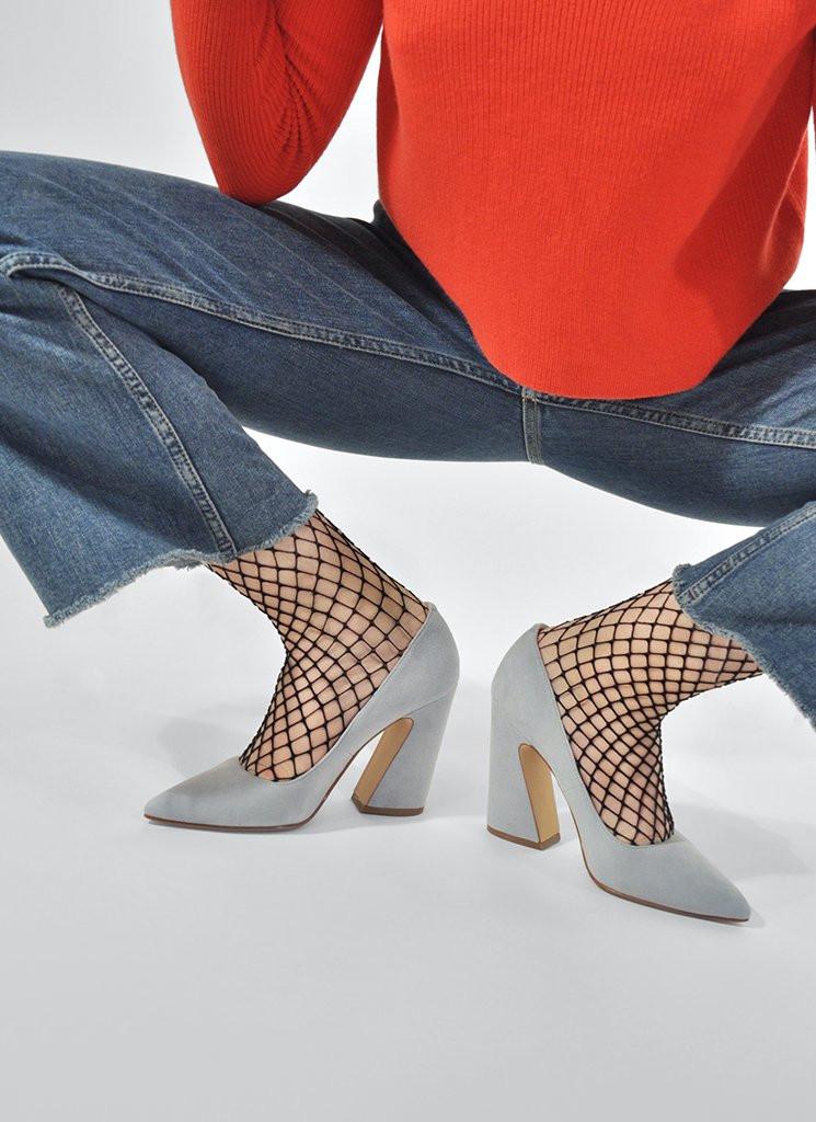 Swedish Stockings Black Rut Fishnet