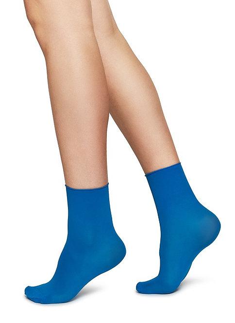 Judith Premium Socks 2 Pack Blue/Cream