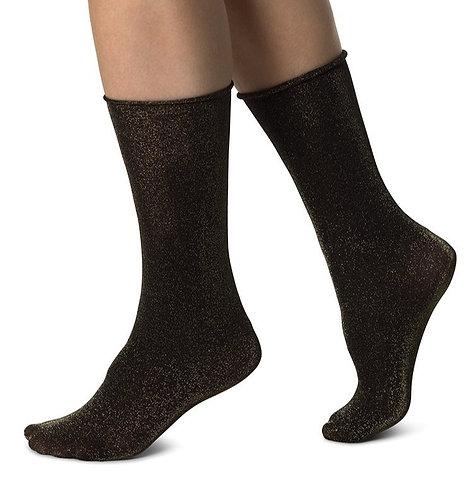 Sustainable Hosiery Swedish Stockings Lisa Lurex Socks Australia NZ