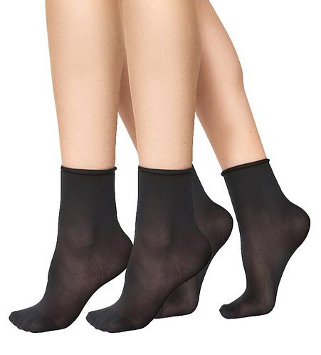 Judith Socks 2 Pack Black