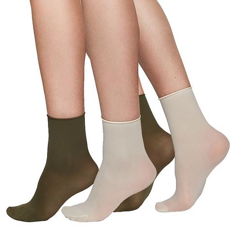 Sustainable Hosiery Swedish Stockings  Judith Premium Socks Khaki Cream Australia NZ
