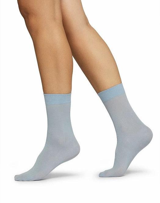 Malin Shimmery Socks - Light Blue