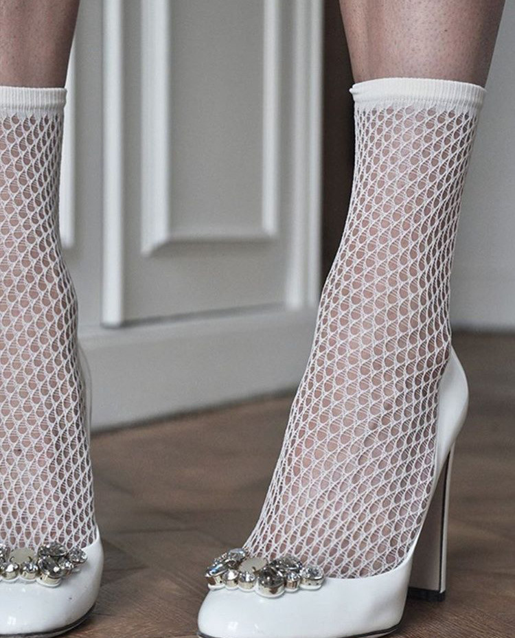 Swedish Stockings Eco Friendly Fishnet Socks