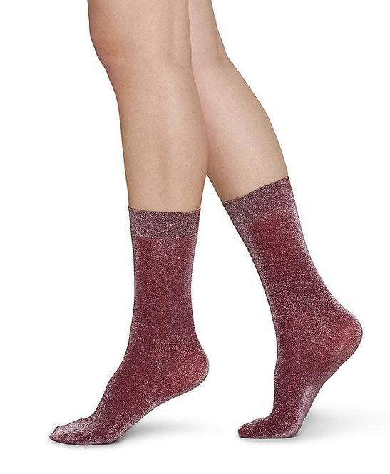 Sustainable Hosiery Swedish Stockings Ines Shimmery Socks Wine Australia NZ