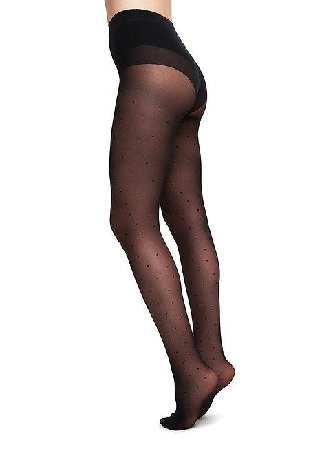 Sustainable Hosiery Swedish Stockings Doris Dot Tights Australia NZ