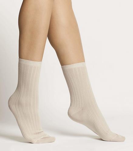 Sustainable Hosiery Woron Organic Cotton Socks Dusty Rose Australia NZ