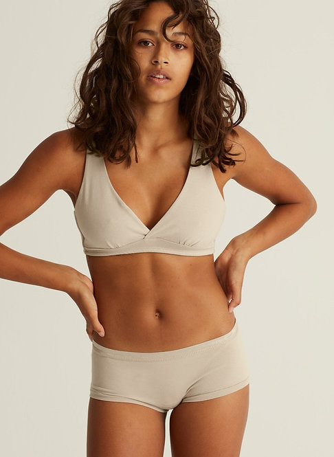 Woron. Organic Cotton Briefs - Nude