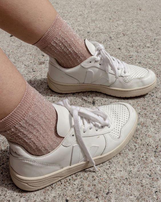 Swedish Stockings Stella Shimmer Socks