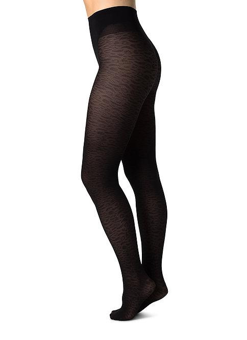 Sustainable Hosiery Swedish Stockings Emma Leopard Tights Australia NZ