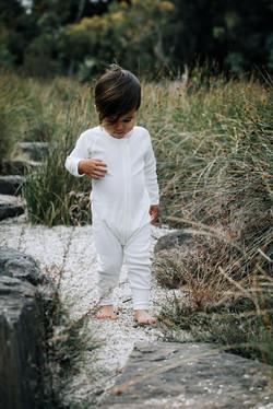 Fibre for Good Long Sleeve Baby Bodysuit