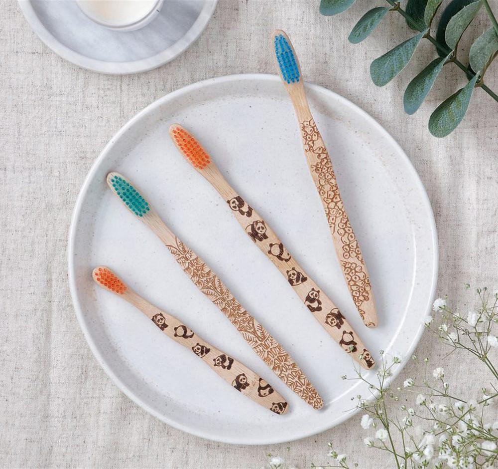 Sustainable Hosiery Brush It On Bamboo Toothbrush Australia NZ