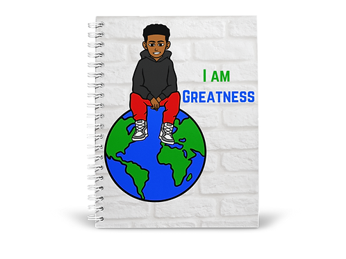 I am Greatness Notebook