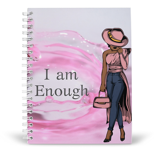 I am Enough (Woman) Notebook