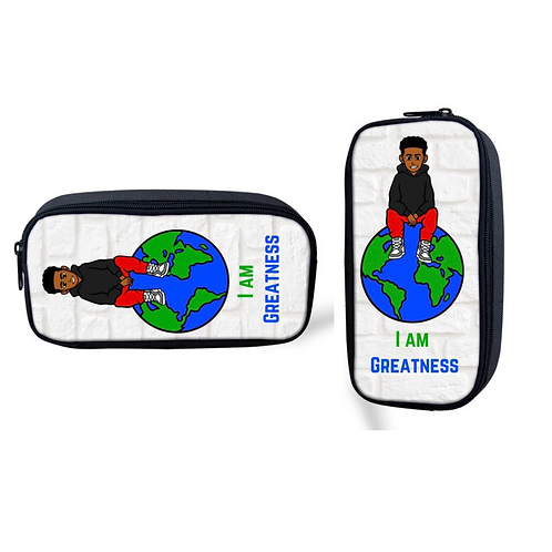 I am Greatness Pencil Pouch