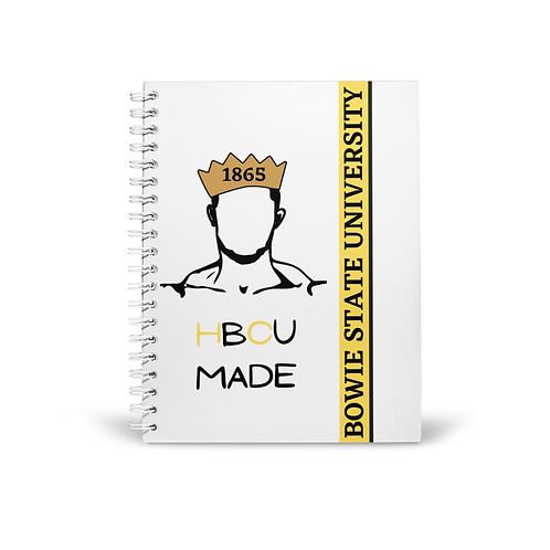 Bowie State (Male) Notebook