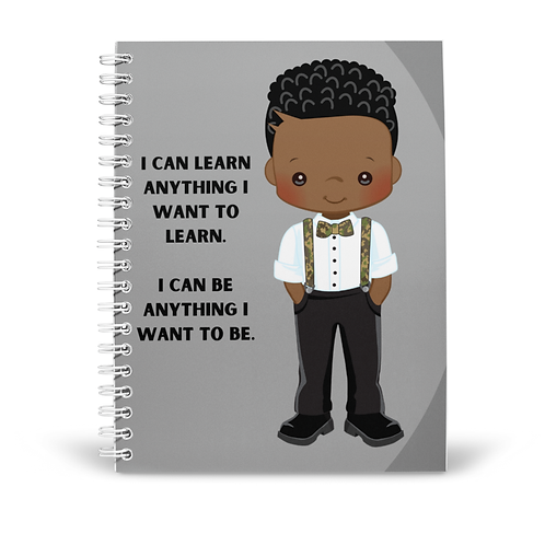 I Can (Boy) Notebook