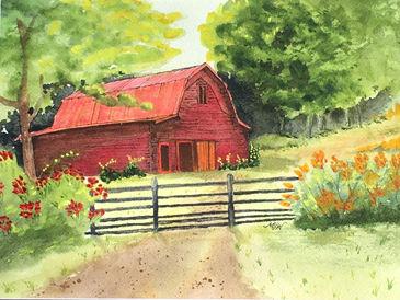 M Walsh 341 Red Barn.jpg
