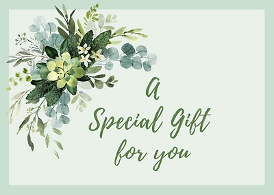 A Gift Voucher for classes