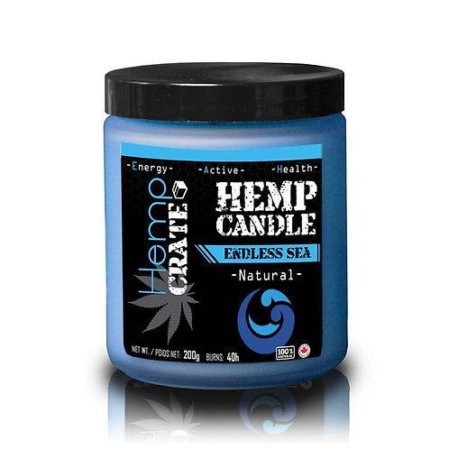 Hemp Candle - Endless Sea