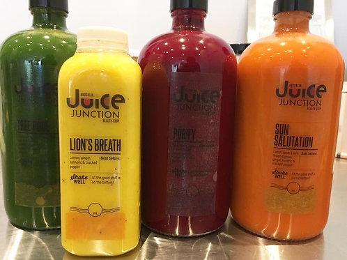 3 Day Juice Cleanses