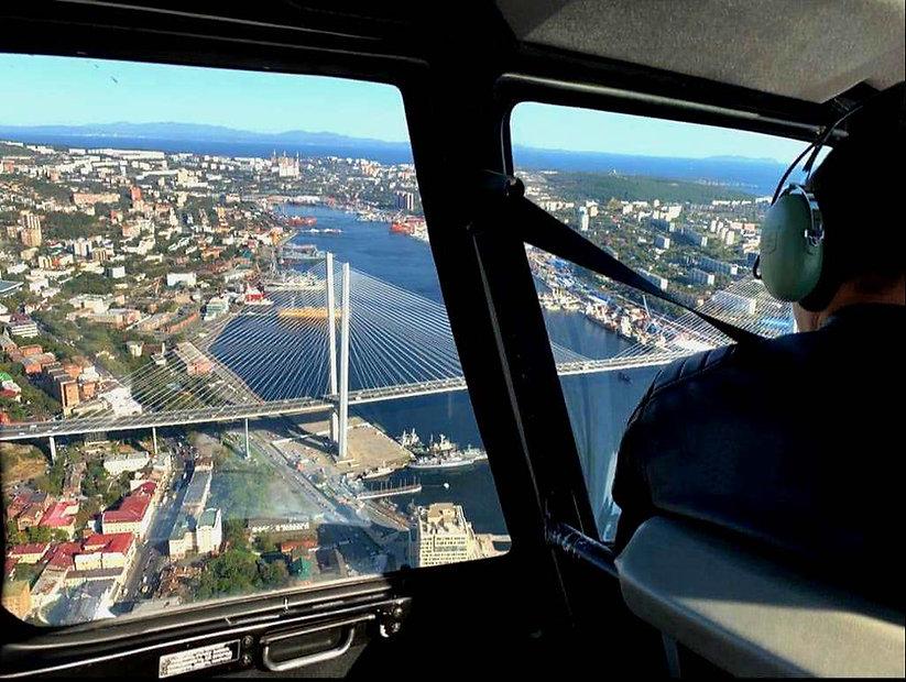 Классическая эксурсия на вертолете во Вл